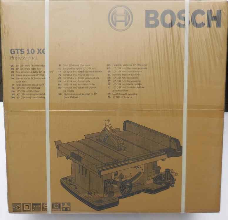 bosch gts 10 xc tischkreiss ge s ge s gen werkzeug shop. Black Bedroom Furniture Sets. Home Design Ideas