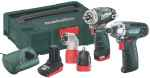 Metabo Combo Set 2,1, 10,8 Volt Quick Pro BS